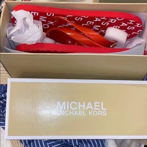 Michael kors flip flops size 5 brand new